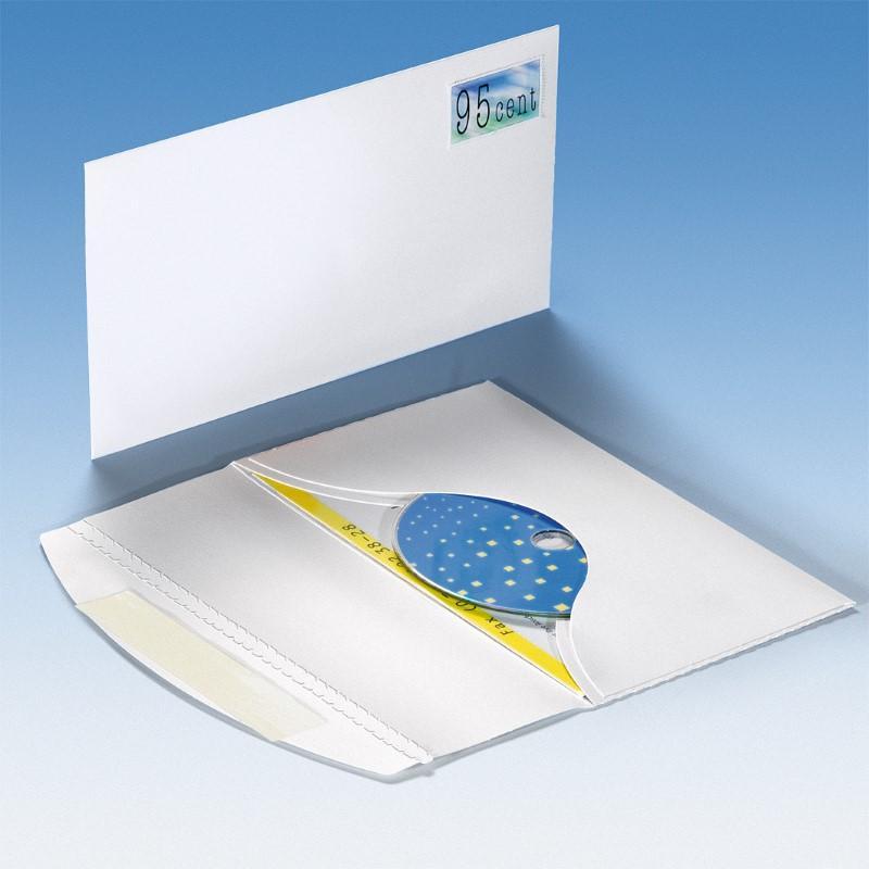 CD Mailer ohne Fenster - Selbstklebeverschuss - Versandverpackungen