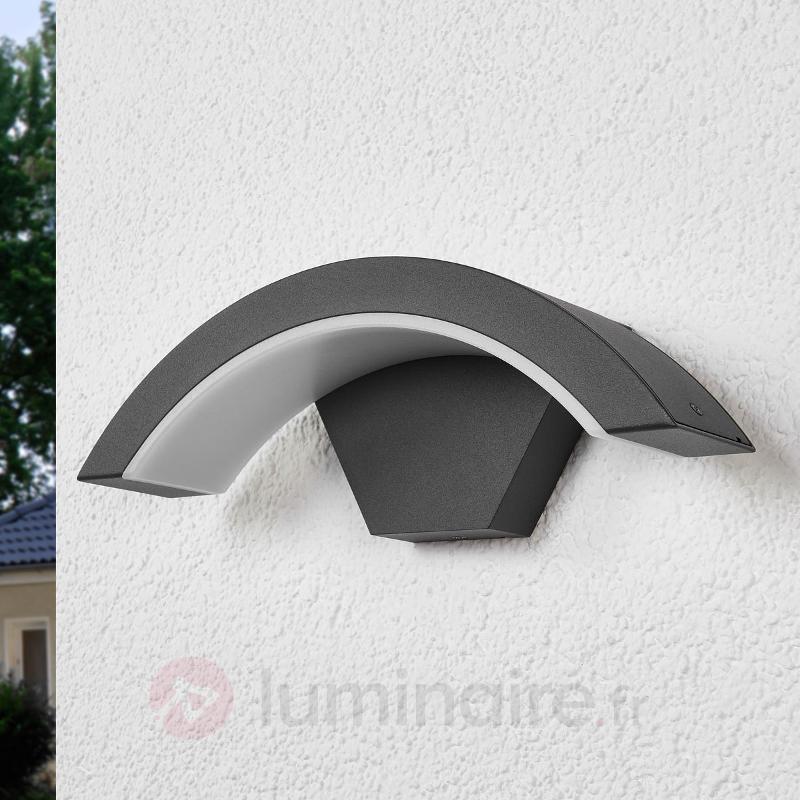 Applique d'extérieur à LED courbé Jule - Appliques d'extérieur LED