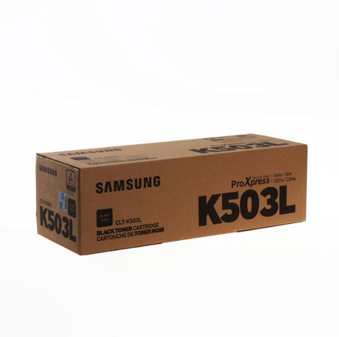 Oryginalny Toner firmy Samsung - Samsung Toner SU147A CLT-K503L/ELS czarny