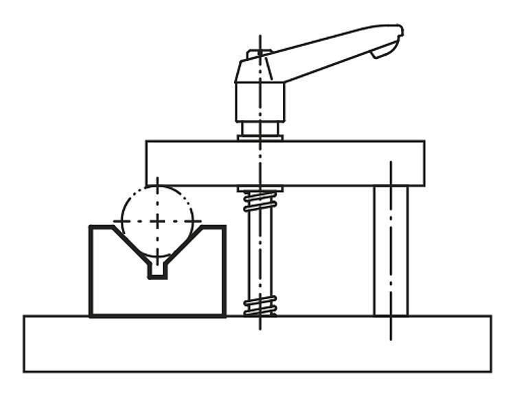 Profil en V Fonte grise et aluminium - Profilés
