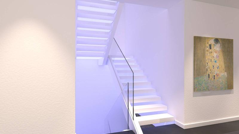 Stairs in Corian - Go Up