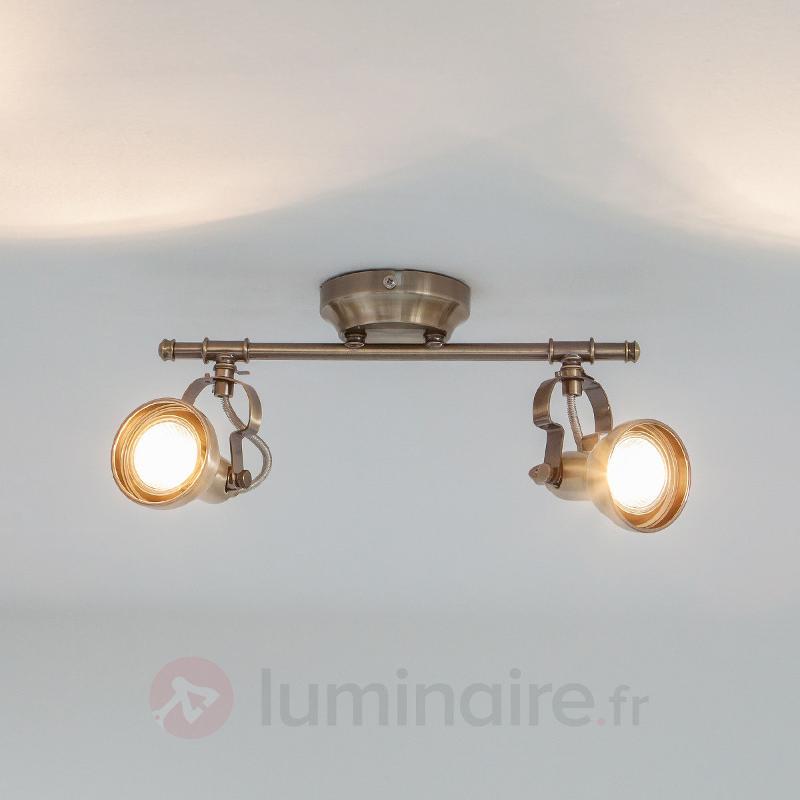 Applique LED Perseas à 2 lampes - Plafonniers LED
