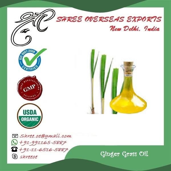 Organic Ginger Grass Oil - USDA Organic