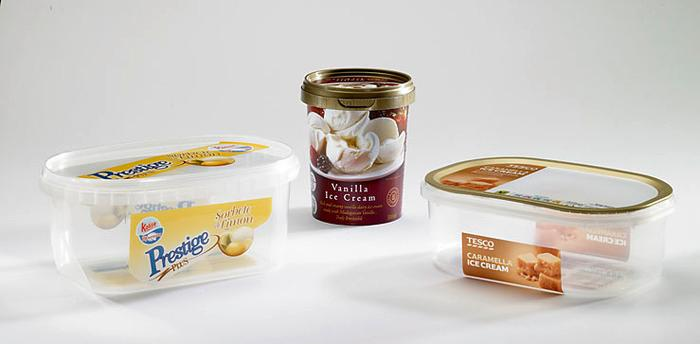 Eiskrem Verpackungen & Zubehör - null