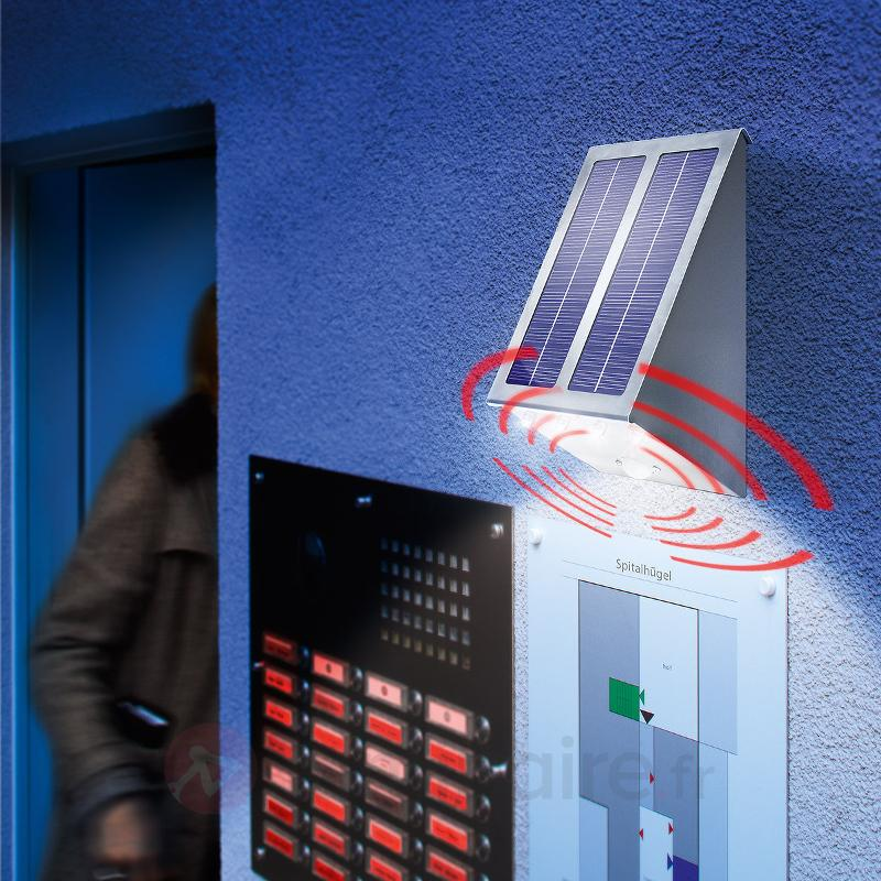 Spot solaire PIR Super Effect,éclairage du sol - Lampes solaires avec détecteur