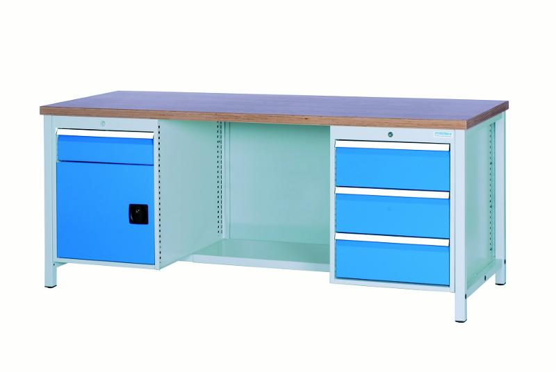 Workbench 2000 with 4 drawers and 1 hinged door - 03.19.24VA