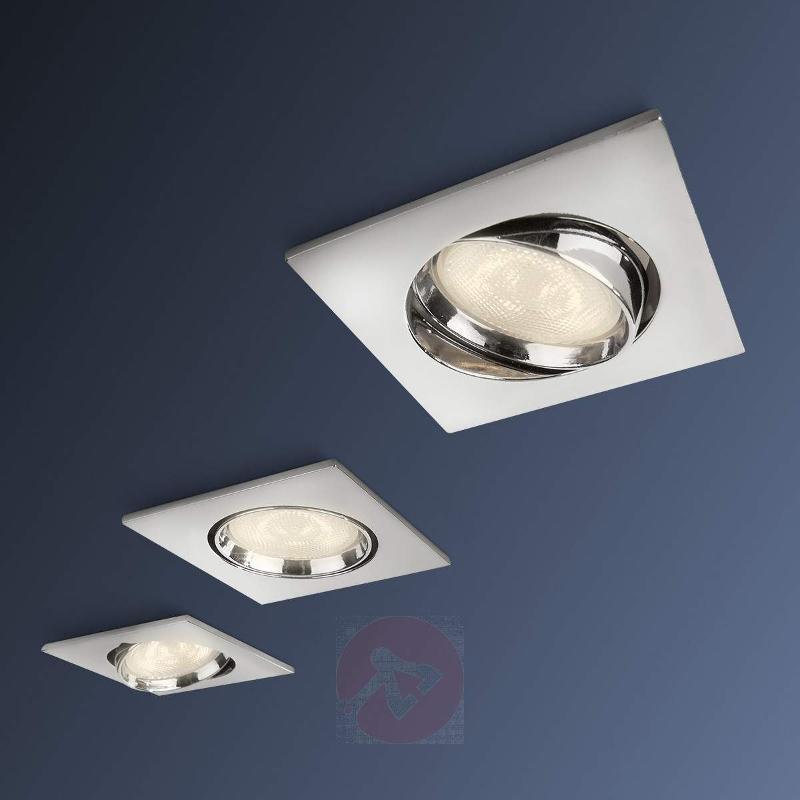 Galileo LED recessed spotlight, set of 3 - Recessed Spotlights