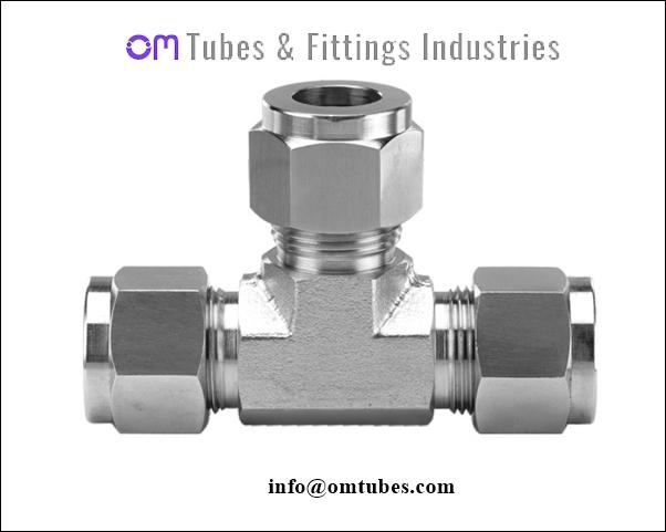 Union Tee - Ferrule Fittings, Compression Fittings,Instrumentation Fittings, Swagelok Parker