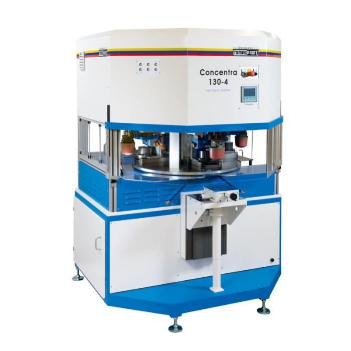 CONCENTRA Serie de máquinas de tampografía - Serie de máquinas de tampografía para la impresión de imágenes multicolor