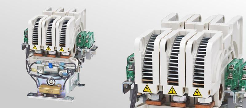 Cam contactors C155/C156/C157 - Multi-pole cam contactors for voltages up to 750 V