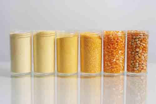 Matières premières base maïs