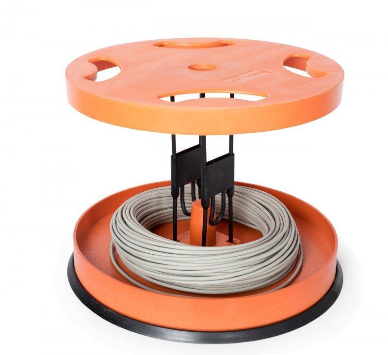 RINGO 500 Trommel-/ Ringabwickler - Baustellenabwickler für Ringe und Trommeln