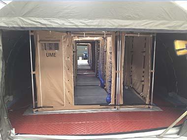 EDEM PERSONNEL (Tent) - Massive Decon Station for People Decontamination (on Tent)