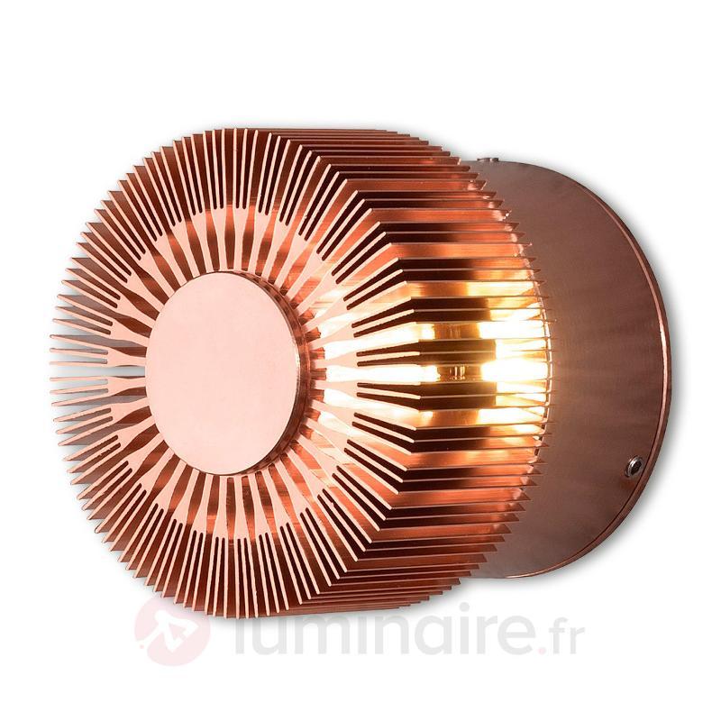 Applique d'extérieur LED de couleur cuivre Monza - Appliques d'extérieur LED