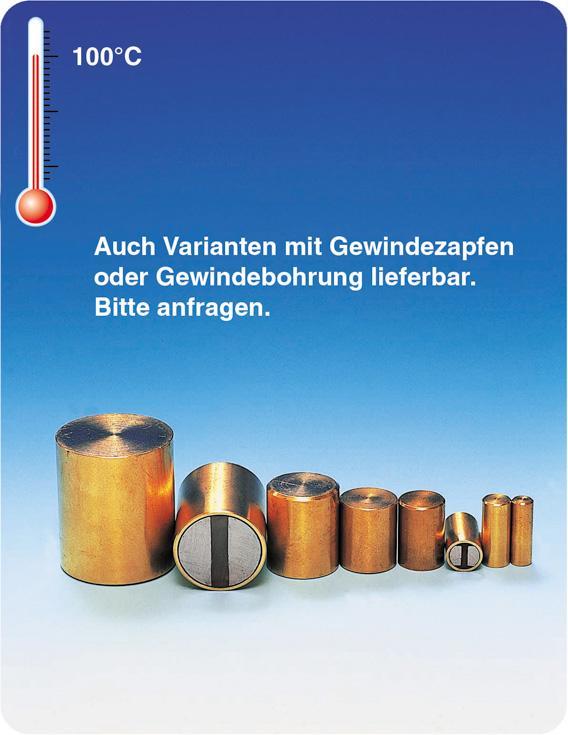 Stabmagnetsysteme bis 100°C - null