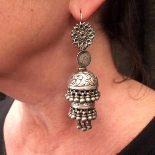 Boucles d'oreilles - Argent, Inde