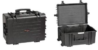 Durable airtight Cases with wheels – mod. 5833 BE - null