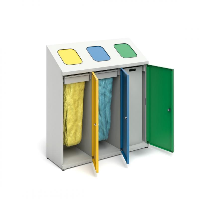 Recycling bins -
