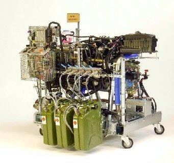 Brennstoffvergleich im Verbrennungsmotor -