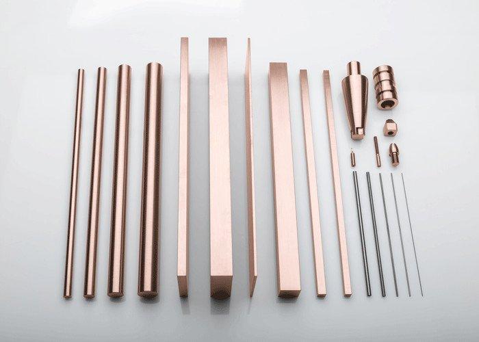 SPARKAL Erodierelektroden - Über 60 verschiedene SPARKAL EDM Elektroden online verfügbar: www.plansee.com