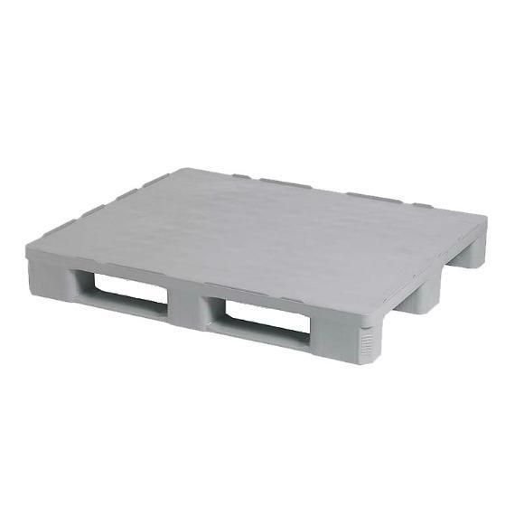 Paletes de plástico - Palete de plástico higiénico - 1200x1000x160mm- plástico HDPE