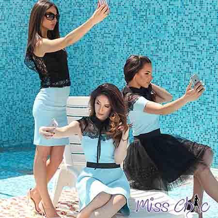 Blouse, Shirt, Skirt and Dress | MISS CHIC - MISS CHIC Summer 2017