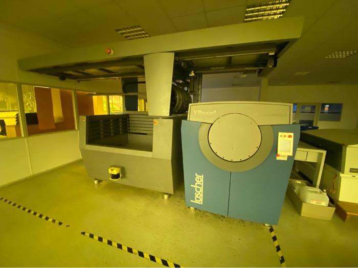 Luescher X-Pose 230 UV - Used Machine