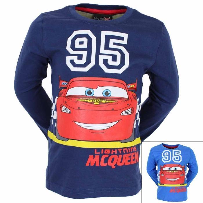 Grossista Maglietta a maniche corte Cars Disney - Maglietta a maniche lunghe