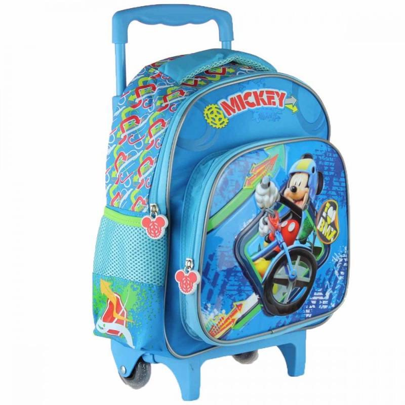 3x Trolleys Mickey Mouse 32x43x18 - Sac et Sac à dos