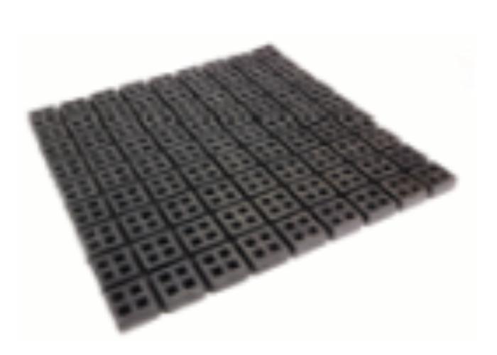 Antivibrationsmatten/-pads / Schwingungsdämpfer - Anti-Vibrationsmaterialien / Schwingungsdämpfer aus Gummi