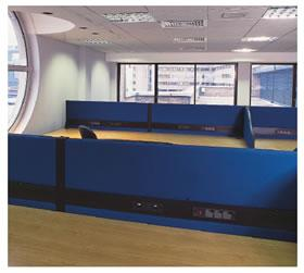 Acoustic office screens - Screensorba