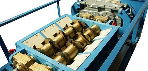 Крупные измельчители - Щадящая переработка электрических и электронных отходов.