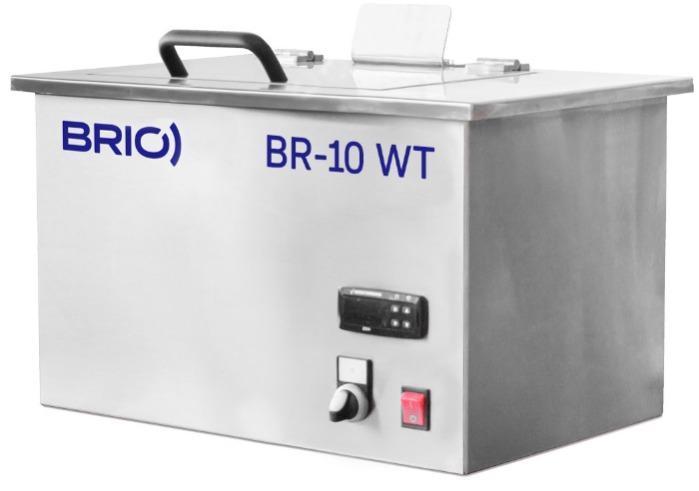 BR-10 WT - Máquina de limpieza por ultrasonidos manual de 10 L