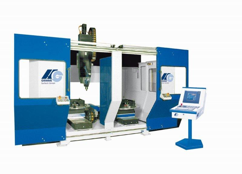 HG 5-axis Rotary System RT-F-T 1400  plastics processing