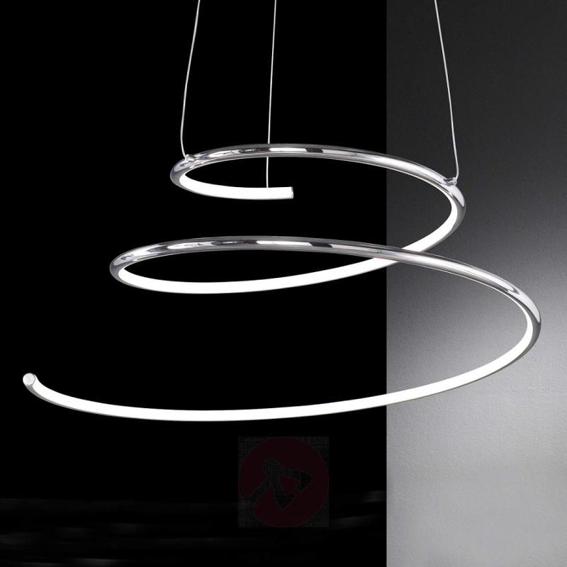 Visio spiral LED hanging light - indoor-lighting