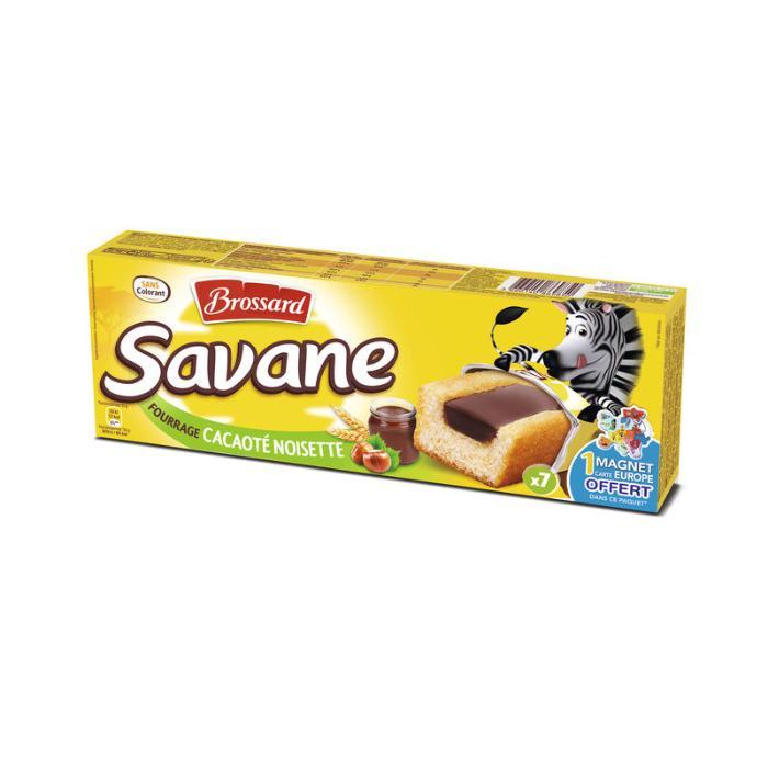 Savane fourrage cacaoté noisette 175g - BROSSARD -