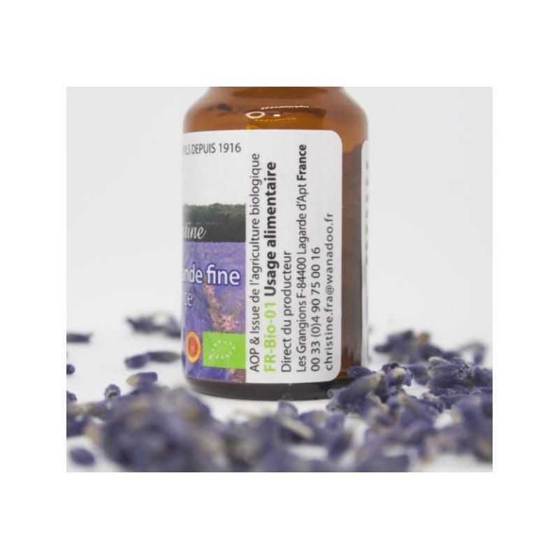 10ml He Lavande Fine Bio Et Aop - Huile essentielle de lavande fine bio