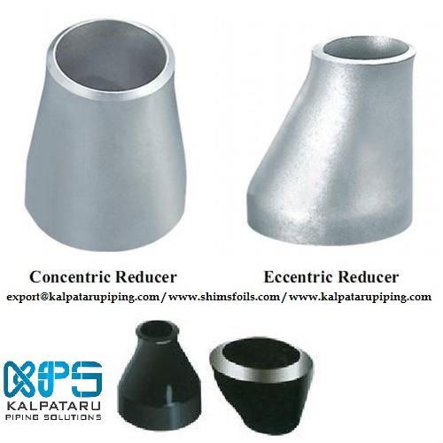 Titanium Gr 2 Eccentric Reducer - Titanium Gr 2 Eccentric Reducer