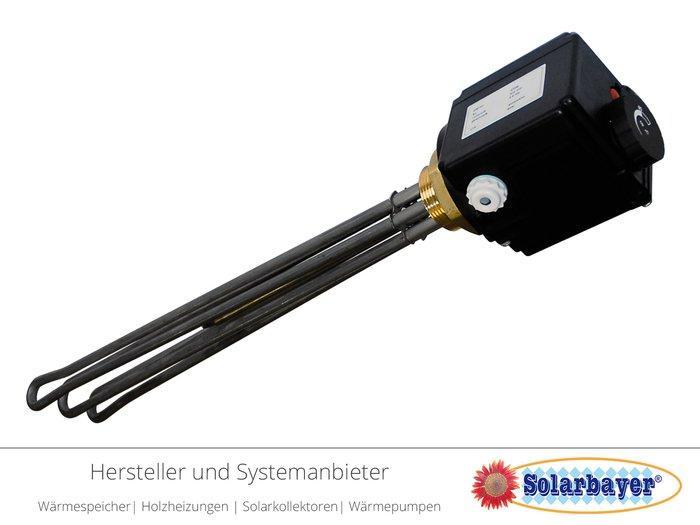 Solarbayer Elektroheizstab  - E-Heiz-Patrone 2 - 9 kW