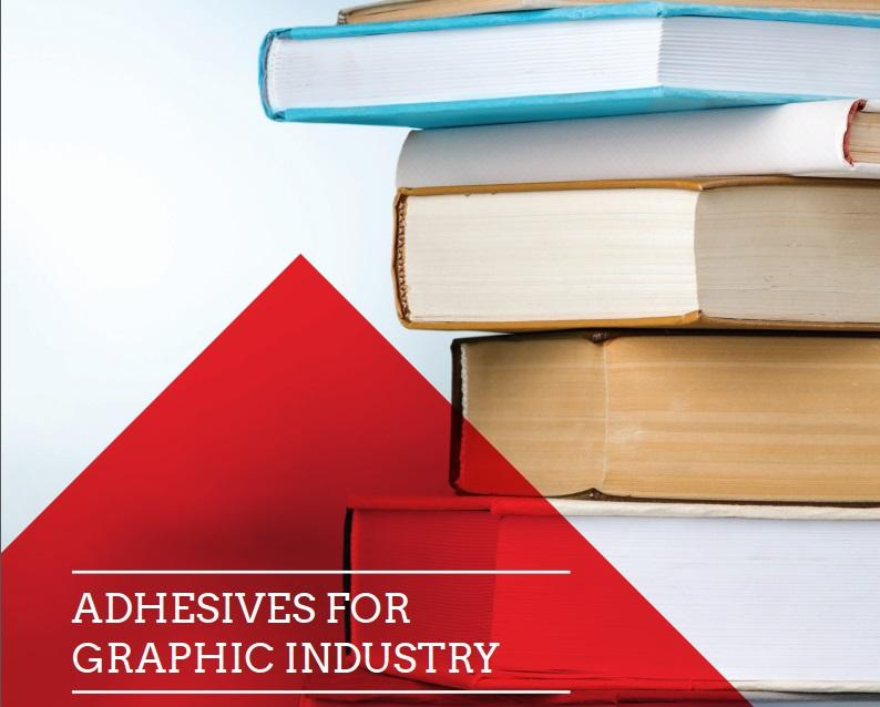 Adhesives for graphic industry -