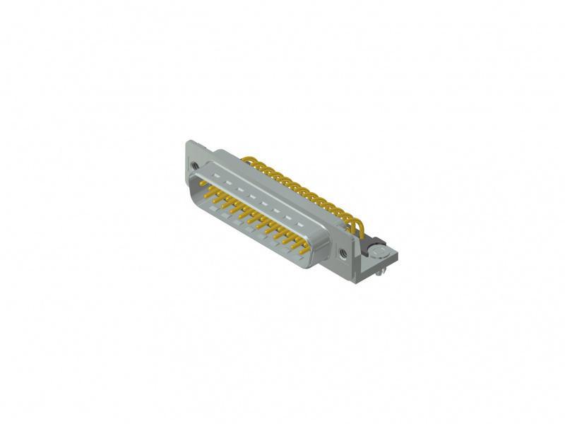 D-SUB Standard Steckverbinder - D-SUB Standard Steckverbinder, Standard, Gehäusegrößen 1-5, Polzahl 9-50-pol.