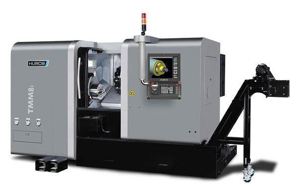 Drehmaschine - TMM 8i - Die ideale Maschine für die Dreh-Bearbeitung mittelgroßer Teile