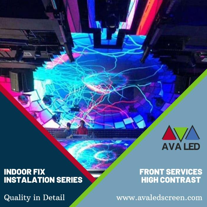 俱樂部的 LED 屏幕 - AVA LED 迷你像素 LED 顯示屏