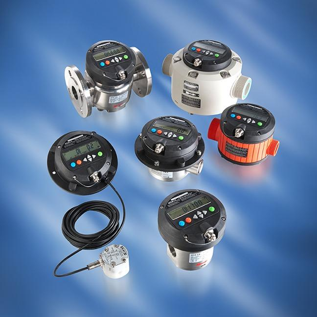 Flow meters - For manual or semi-automatic filling of different fluids