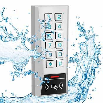 Waterproof HID/ EM & Mifare Access Control Keypad - Easy keypad access control with EM/HID/Mifare reader