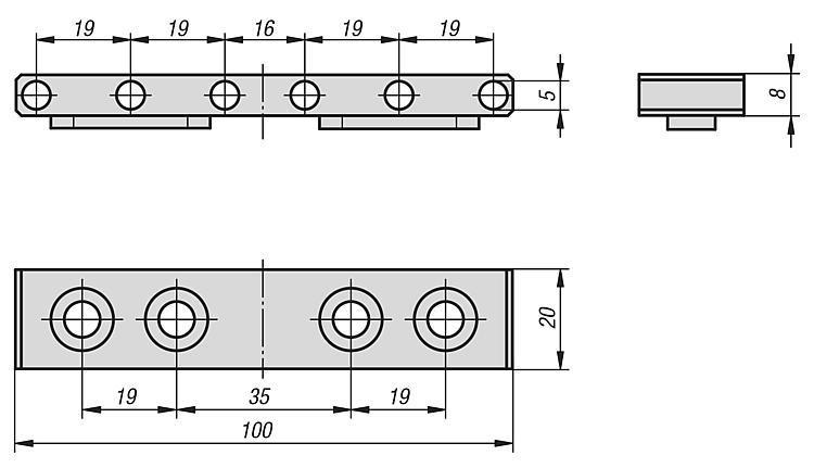 Mors de serrage standard - Étau de bridage 5 axes