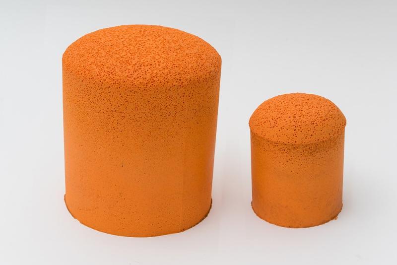 Sponge conical balls