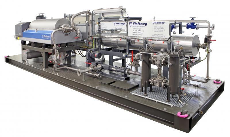 Tricanter® - Tricanter®: The 3 Phase Decanter Centrifuge by Flottweg for many applications