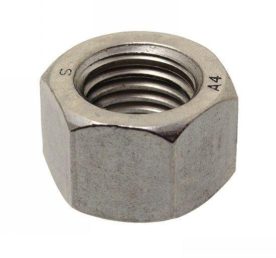 415610 ECROU HEXAGONAL HAUT (HH) H = D INOX A4 - ISO 4033 - NFE 25-407 - Inox A4