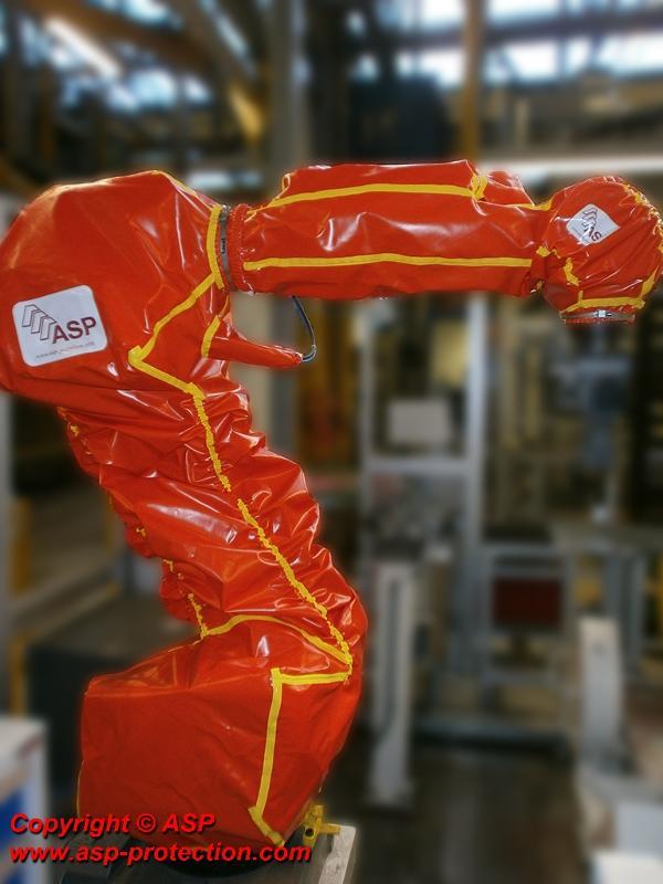 Roboterschutz Oberflächenbehandlung